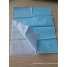 Toalha de cama protetora de papel com linha de corte Dfmp002