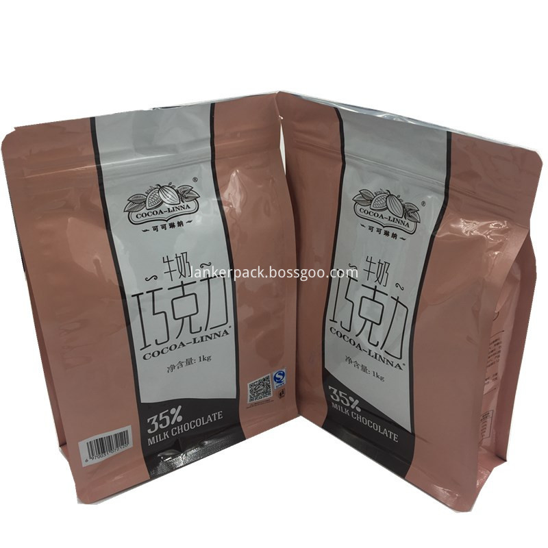 flat bags for chocolate