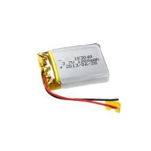 Batterie Li-Polymer personnalisée 103040 Batterie rechargeable 3.7V 1200mAh