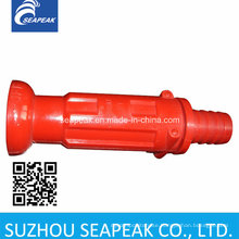 Straight Nozzle Red Plastic Nozzle Fire Nozzle