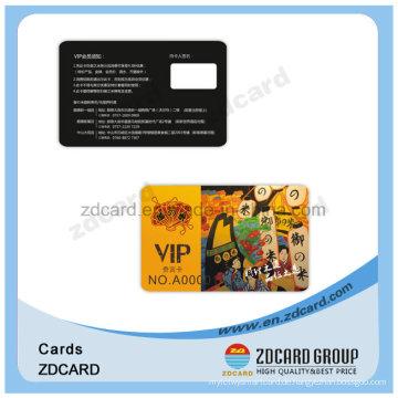 Printing Membership Loyalitätskarten Magnetstreifen Plastikkarte