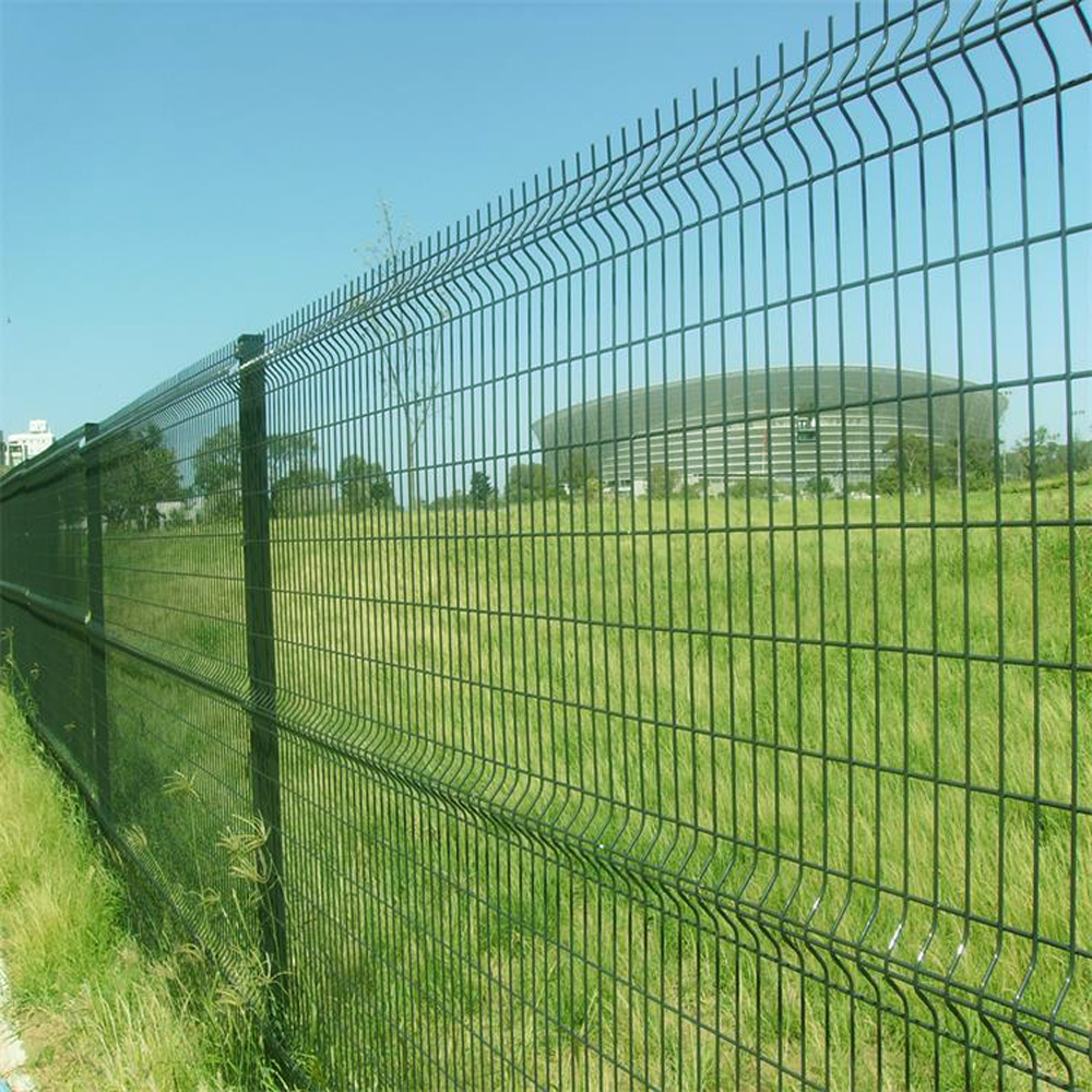 Lapangan Terbang Welded Metal Mesh Fence Netting