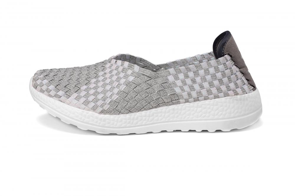 Stretch Woven Upper Slip-ons