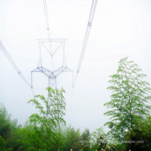 220kV Cat Head Angle Steel Power Transmission Tower