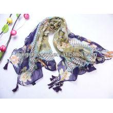 Schal Schal Fringe Schal mit Beats für Damen