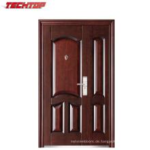 TPS-078sm Außen Moderne Haus Buildng Stahl Material Sicherheitstür
