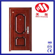 2017 puertas de apartamento de acero de la puerta de entrada de la seguridad del nuevo modelo del diseño