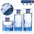 Luminarc Copa de vidrio de color sólido azul (J4135)