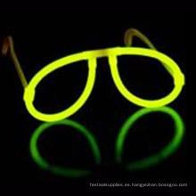 Gafas que brillan intensamente del favor de la fiesta de Navidad