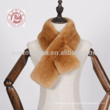 bufanda de piel de conejo de castor para el invierno