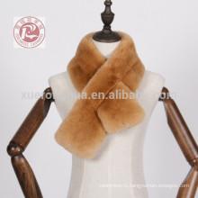 Бивер кролика шарф для зимы