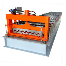 Hebei fully automatic metal decking roofing sheet roll forming machine for iron sheet