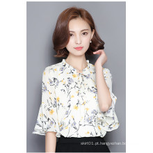 Elegante Chuffion Moda Feminina ′ Blusa