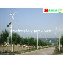 Wind & solar Hybrid Straße Beleuchtungssystem verschiedener Stile