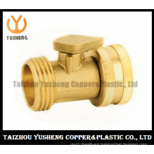 Brass Ball Valve with Brass Handle (YS1029)