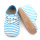 Special Blue Baby Shoes Stripe Oxford Shoes Wholesale