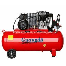 100L 3HP 2.2KW compresor de aire de pistón de tipo italiano
