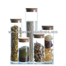 Wholesale Pyrex Glass Spice Jar With Cork