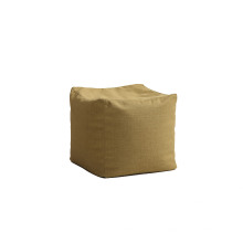 Cadeira de saco de feijão de tecido popular