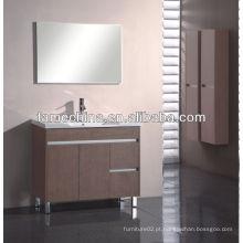 Mobiliário de banheiro MDF novo Acessório de banheiro de bacia de vidro