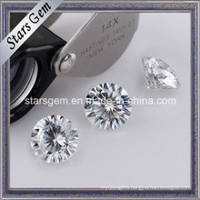 Wuzhou Wholesale 16 Hearts 16 Arrows Moissanite Loose Stone