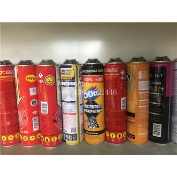 Lata de aerosol de alta presión