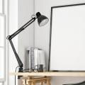 Swing Arm Desk Lamp Clip-on Table Lamp Clamp Desk Lamp
