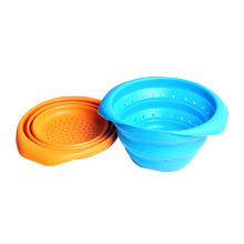Hot Sell Atoxic Silicone Rubber Folding Basket