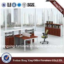 Modern Two Seats L Shape Office Partition Workstation (HX-GA009)