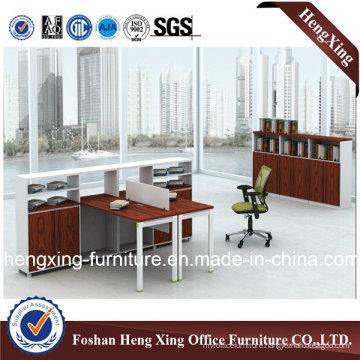 Modern Two Seats L Shape Office Partition Workstation (HX-GA009)