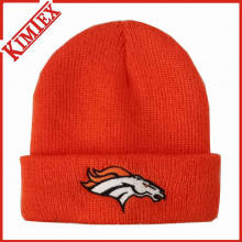 New 2016 Knitted Embroidery Beanie Hat