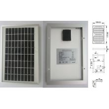 9V 18V 5W Monocrystalline Solar System Lighting Panel PV Module with Ce Approved