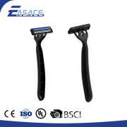 Safe comfortable double edge long handled safety razor