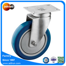 5 inch Plate Casters voor Warehouse