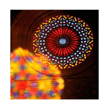 Church jumbo window stained glass architecture building art tempered insulated glass
