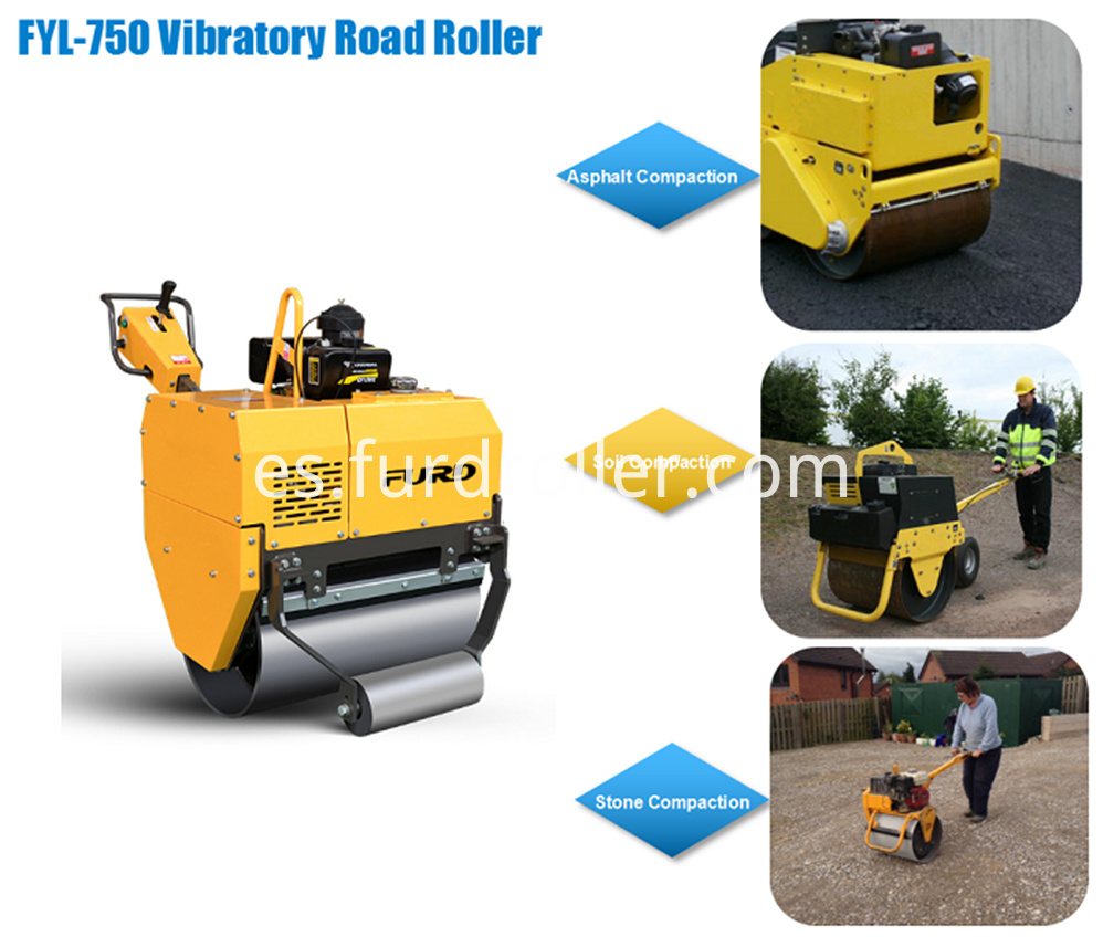 Self Propelled Vibratory Roller