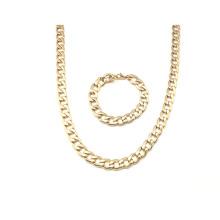 Accesorios de moda Collar de cadena de acero inoxidable