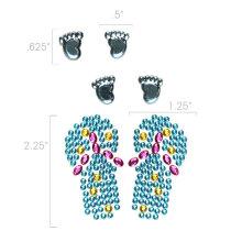 Adesivos de cristal móvel Nontoxic decoração
