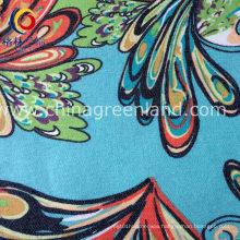 97%Cotton 3%Spandex Printed Twill Imitate Denim Fabric for Shrit (GLLML181)