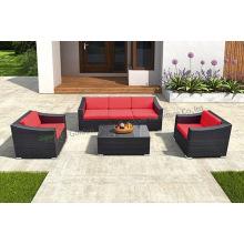 Set di divani in tessuto dal design moderno per la casa