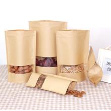Bolsas de embalaje del papel de comida del ziplock del papel de aluminio