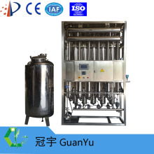 Water for injection water distillation
