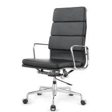 Chaise de bureau classique Eames Leather Swivel Manager (HF-CH138A2)