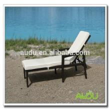 Audu Rattan Открытый бассейн Складной стул для пляжа Размеры Технические характеристики