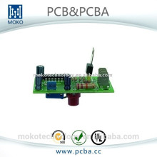 PCB board con componentes electrónicos assembly service supplier