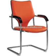 Простой стиль металлический каркас кожаный офисный стул F601