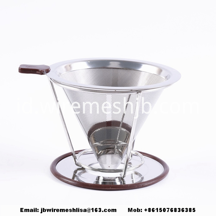 Reusable Stainless Steel Pour Over Coffee Filter