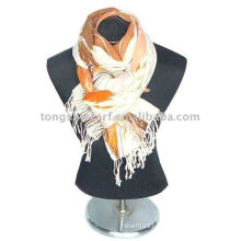 wool scarf and shawl