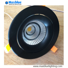 35W Elegant Black Housing CREE COB LED Ceiling Downlight