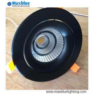 35W Elegant Black Housing CREE COB LED Ceiling Downlight